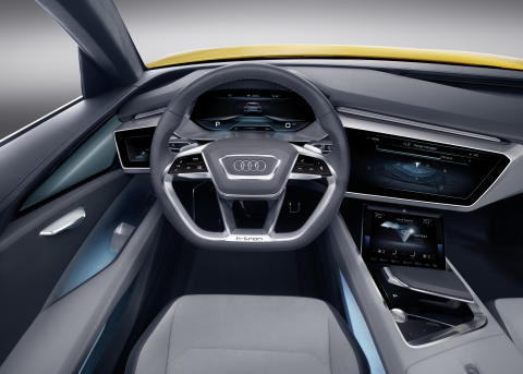 Audi h-tron quattro interiör