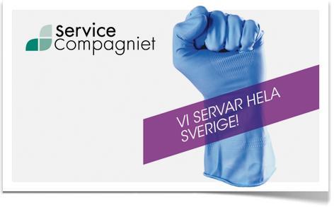 Fortsatta satsningar inom ServiceCompagniet!