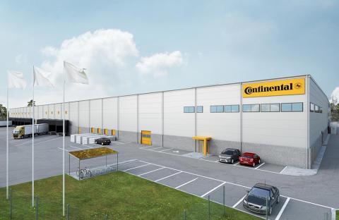 Ett av projketen som Logistic Contractor utvecklar är en ny  ogistikanläggning om cirka 21 000 kvm för Continental Däck i Viared, Borås.