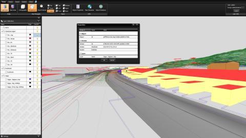 TC5D Map TIN Pointcloud perspective properties