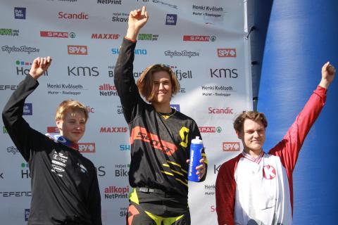 Scandinavian downhill hafjell  pallen m-junior