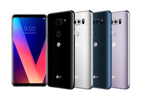 LG:s hyllade smartphone V30 lanseras på den nordiska marknaden