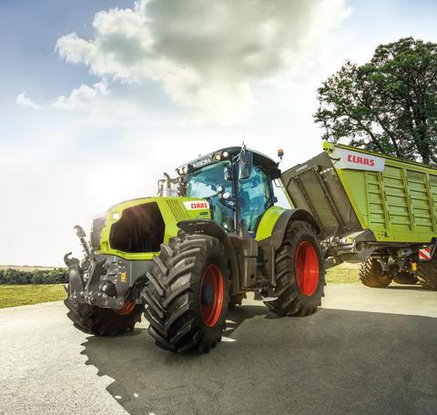 150.000 traktorer fra CLAAS