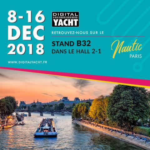 Digital Yacht exposera ses nouveaux produits au Nautic de Paris