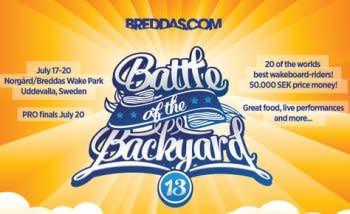 Battle of the backyard 17-20 juli