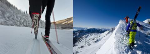 Skidor – för alla sidor av berget