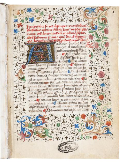 Samlingshandskrift från 1400-talet - unikt inlån från Vatikanen!