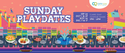 CLARKE QUAY SUNDAY PLAYDATES 2017:  MORE THAN JUST AFTERNOON TEA & GAMES