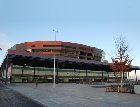 Sparbanken Syds kontor i Malmö Arena