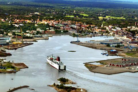 Invigning av sanering Oskarshamns hamnbassäng