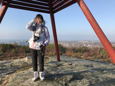 Sin-Ying blev årets första resejournalist till Göteborg