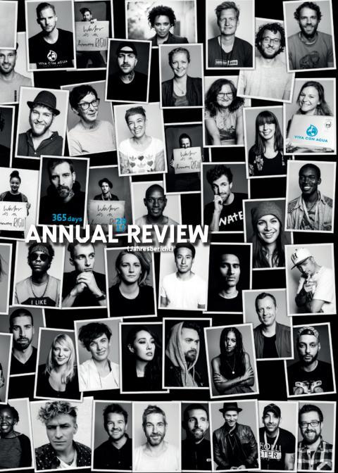 365 Tage Viva con Agua - der Jahresbericht 2017