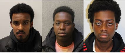 Three found guilty of raping teenager