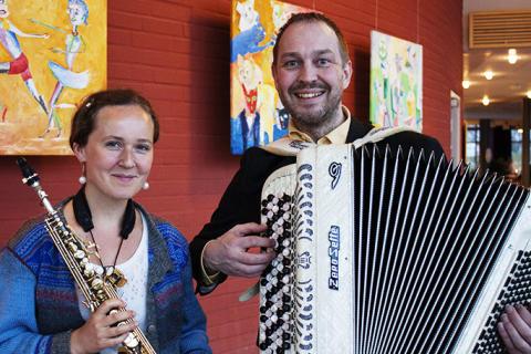 Dragspels- och folkmusikkväll på Vara Konserthus