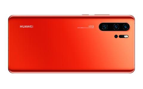 Huawei P30 Amber Sunrise till Sverige