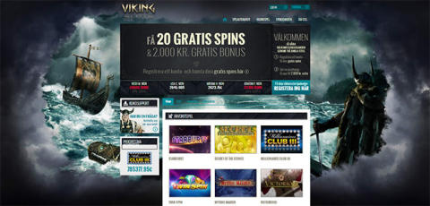 Stor uppdatering av Svenska Viking Slots internet casino