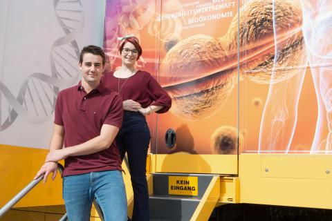 BioTechnikum in Singen: Takeda Ausbildungsbotschafter