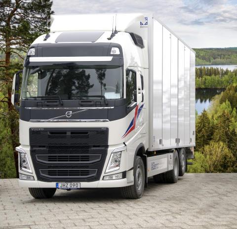 Nya skåplösningen XTR för tunga fordon ger miljövänligare och lönsammare transporter
