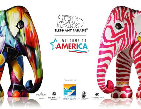 International Art Elite Join Line-Up for Elephant Parade: Welcome to America in Dana Point