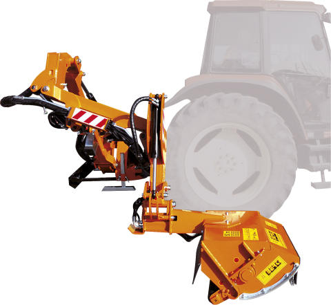 AHG-modellerna ger upp till 240 cm framskjutning