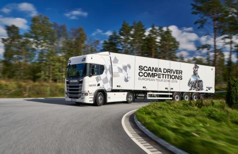 Scania Driver Competitions: Scania Lkw im Wert von 100.000 Euro gewinnen