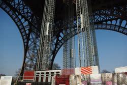 Isolering från ROCKWOOL när Eiffeltornet renoveras