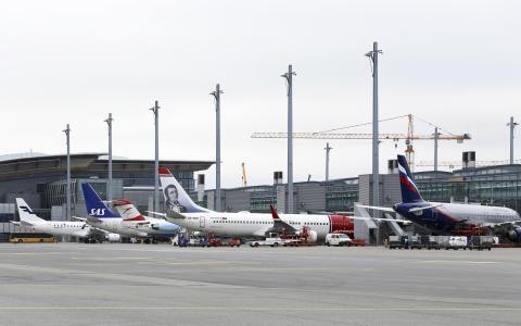 Air traffic increase in July