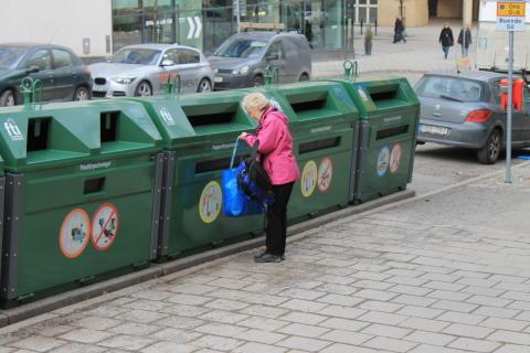 Ändrade förutsättningar riskerar återvinningen i Stockholm