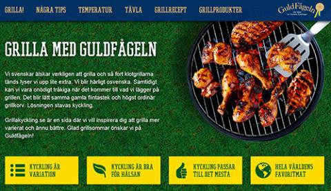 Nu lanserar Guldfågeln grillakyckling.se