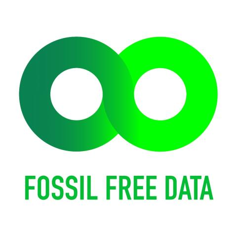 Carbon Footprint from Data Increase - Node Pole to Launch Fossil-Free Data Label