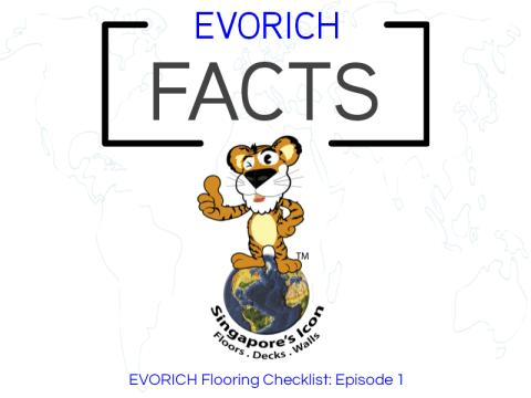 """Did You Know?"" EVORICH Flooring Checklist: Episode 1"