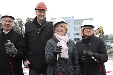 Byggstart för Polisutbildningens nya lokaler vid Södertörns högskola
