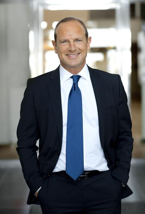 Scandic's CEO, Frank Fiskers, one of the 10 people who are hottest in the hotel industry