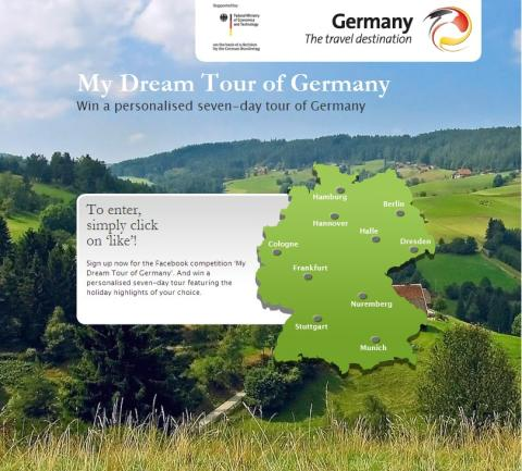 """Appen """"Drömresa Tyskland"""" omåttligt populär"""