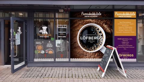 Odottamaton onnenpotku Löfbergsille Suomessa