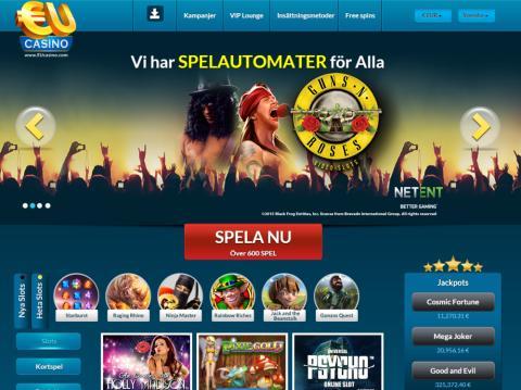 Äntligen förstår EuCasino vad det innebär att vara ett riktigt Svenskt online casino!