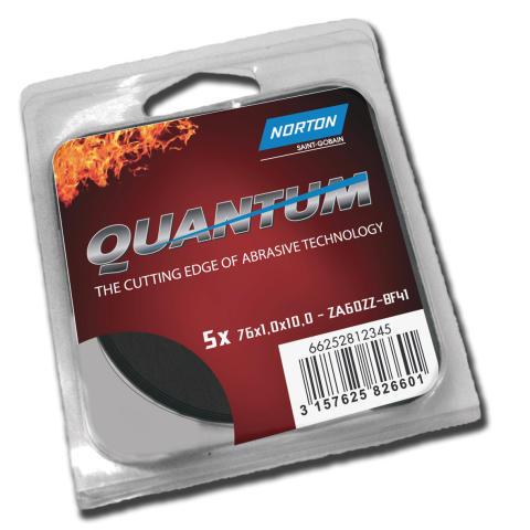 Utökat sortiment Quantum - Kapskiva för raka maskiner