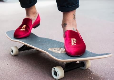 O.P. Anderson skor on wheels