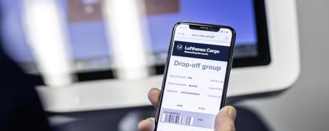 Lufthansa Cargo beschleunigt Frachtannahme und -auslieferung