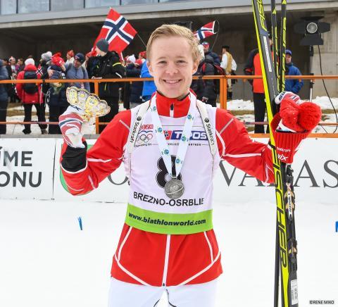 Sølv og bronse til Norge i junior-VM