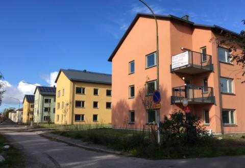 Inflyttning i Riksbyggens Brf Skolmästaren i Eskilstuna