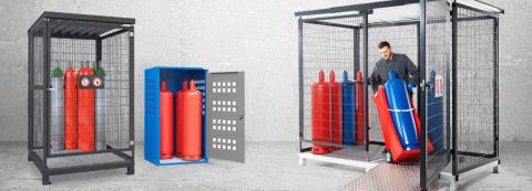 Förvaring gasflaskor – så uppfyller du regler och krav