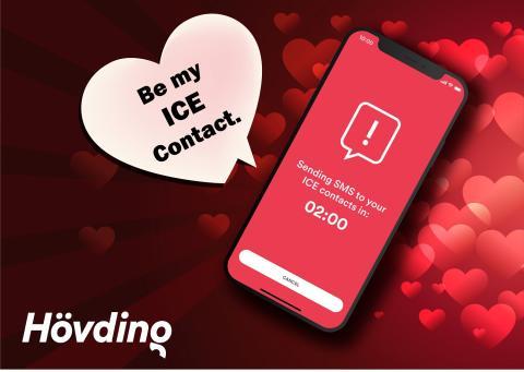 """""""Möchtest du mein Notfallkontakt sein?"""" Hövding bietet mit der gekoppelten - Notfall-App den nahezu sichersten Liebesbeweis"""