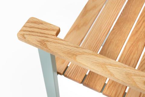 Detail SunSet armchair, design Mats Aldén