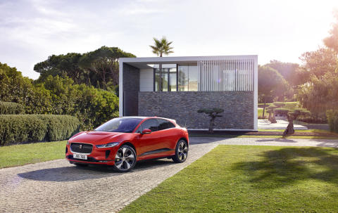 Jaguar præsenterer markedets lækreste elbil