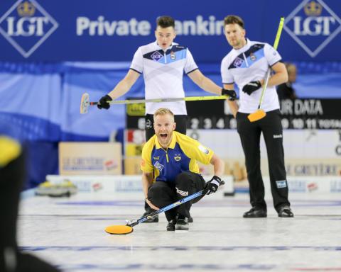 Curling-EM 2016: Förlust även för lag Edin mot Skottland