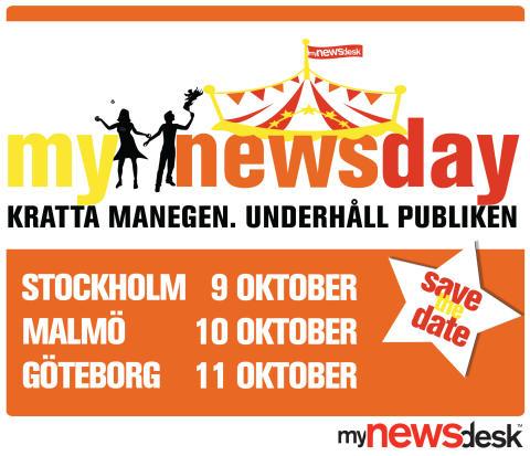 Välkommen till Mynewsday 2012!