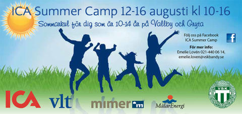 Mimer i samarbete med ICA Summer Camp i Västerås