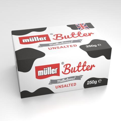 Müller Butter Unsalted