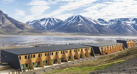 Nye boliger i Longyearbyen